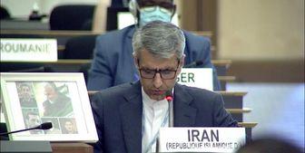 درخشش قاب عکس سردار شهید در شورای حقوق بشر سازمان ملل