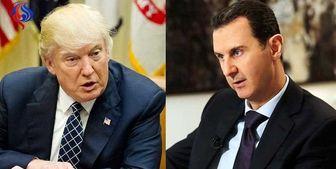 نامهنگاری ترامپ با بشار اسد برای مذاکره مستقیم