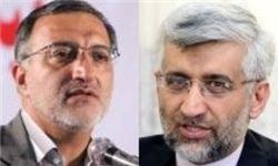 دیدار انتخاباتی زاکانی و جلیلی