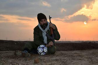 بازیکن پرسپولیس در نقش یک فوتبالیست شهید/عکس