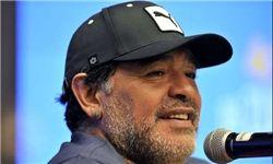همدردی مارادونا با بازماندگان حادثه پاریس