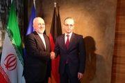 گفتگو ظریف و وزیر خارجه آلمان