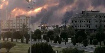 بزرگترین پالایشگاه جهان همچنان در آتش میسوزد