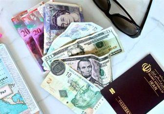 ارز مسافرتی 10 هزار و 400 تومان شد