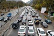 آخرین وضعیت ترافیکی جادههای کشور در 8 خرداد 99