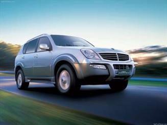 خودرو شاسی بلند سانگ یانگ در ایران تولید میشود