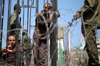 اعتصاب غذای اسیران فلسطینی در زندان های رژیم صهیونیستی