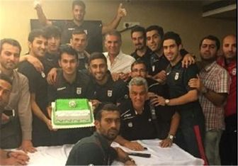 جشن صدتایی شدن کاپیتان تیم ملی + عکس