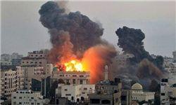 تصاویر اولیه لحظاتی پس از انفجار دمشق و بازرسی محل/فیلم