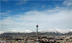 آسمان تهران امروز صاف است