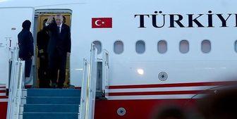 اردوغان وارد دوحه شد