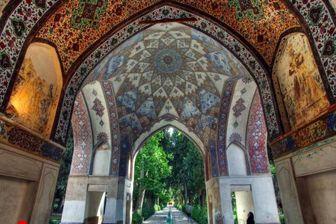 عکسی زیبا از قدیمیترین باغ تاریخی ایران