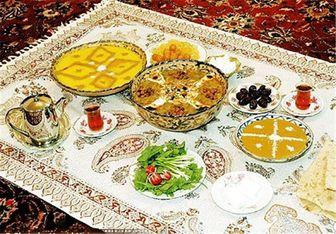 نکات تغذیهای برای افطار