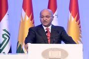 دیدار رئیس جمهور عراق با رئیس الحشد الشعبی