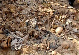 کشف یک گور دسته جمعی از جنازههای سرکردگان داعش