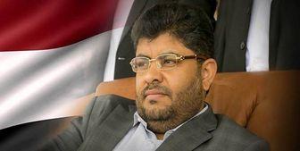واکنش محمد علی الحوثی به ساقط شدن پهپاد جاسوسی در یمن
