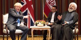 لندن: جانسون از روحانی برای سفر به انگلیس دعوت کرد