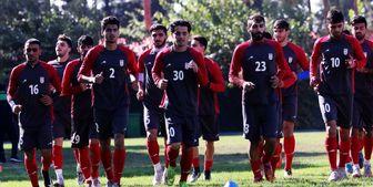 اردوی 10 روزه تیم امید قبل از سفر به قطر
