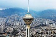 وزش تندباد لحظهای در تهران