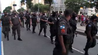 تظاهرات هزاران برزیلی علیه نژادپرستی