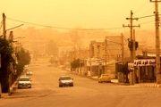 گرد و غبار در آسمان قصرشیرین/ گزارش تصویری