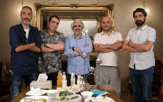 دورهمی«شام ایرانی» در خانه مجری سرشناس/ عکس