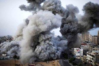 بمباران دوباره نوار غزه توسط رژیم صهیونیستی