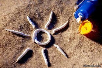 چگونگی مصرف فرآوردهای ضد آفتاب
