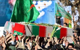 تصاویر شهدای مدافع وطن درمنطقه مرزی میرجاوه