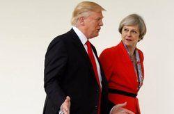 ترامپ و ترزا میدرباره سوریه گفت و گو کردند