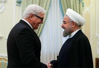 وزیرخارجه آلمان با روحانی دیدار کرد