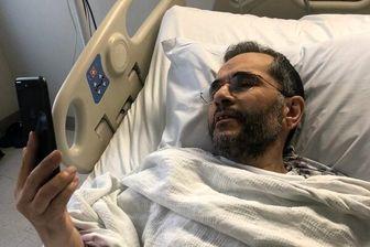 عیادت ظریف از تخت روانچی به کمک شبکه های مجازی