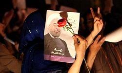 گاردین: جشن پیروزی روحانی، تمسخر جنبش سبز بود
