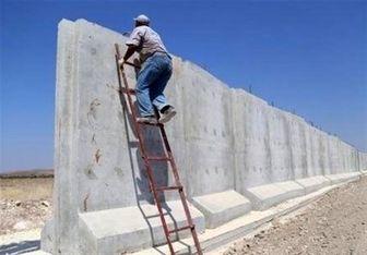 ترکیه: دیوار مرزی با ایران به نیمه راه رسیده است