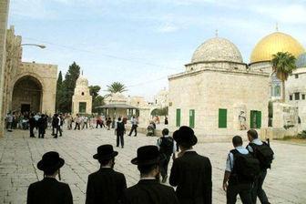 زخمی شدن ۱۰ فلسطینی در حمله شامگاه صهیونیستها به مسجدالاقصی