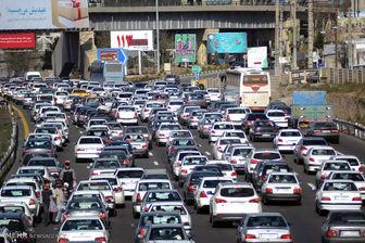 آخرین وضعیت ترافیکی اتوبانها و شریانهای اصلی پایتخت