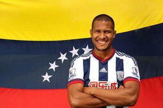 سرشناس ترین بازیکن ونزوئلا در مقابل تیم ملی