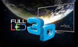 قیمت تلویزیون سه بعدی + جدول