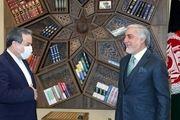 دیدار عراقچی با رئیس شورای عالی مصالحه ملی افغانستان