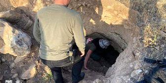 الحشد الشعبی یک شبکه تونلهای داعش را منهدم کرد