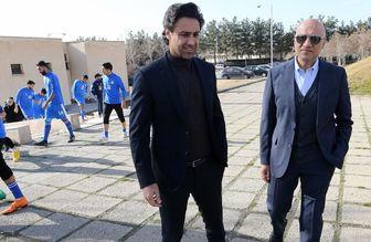 حضور فرهاد مجیدی در کمیته ملی المپیک+عکس