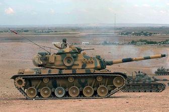 ارتش ترکیه شمال سوریه را گلوله باران کرد