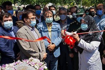 افتتاح بزرگترین مرکز واکسیناسیون خودرویی در تهران