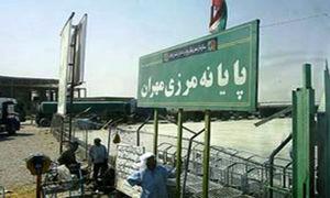 ازدحام شدید در مرز مهران به دلیل خروج خودروهای شخصی+عکس
