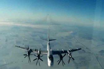 حمله بمب افکن های راهبردی روسیه به مواضع داعش در سوریه