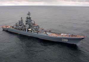 یک رزمناو هستهای روسیه وارد دریای بارنتز شد