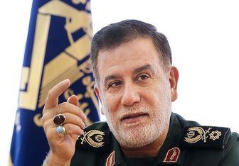 معاون عملیات سپاه: موشکهای ما دقیقاً به اهداف اصابت کرد