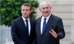 نتانیاهو به ماکرون: برجام را اصلاح کنید