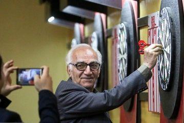 مسابقات دارت هنرمندان پیشکسوت/گزارش تصویری