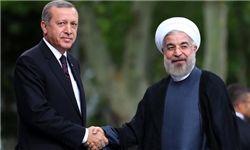 استقبال رسمی اردوغان از روحانی/شلیک گلوله به افتخار روحانی+تصاویر